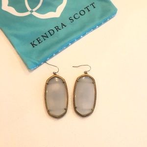 Kendra Scott Danielle Earrings Grey Slate